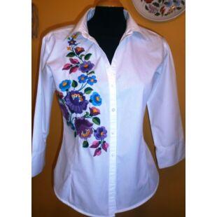 879469700c Kalocsai mintás női ruha - Kalocsai hímzés - Népművészeti ruha