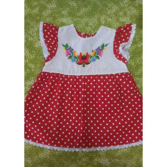 Kislány ruha ,fodros