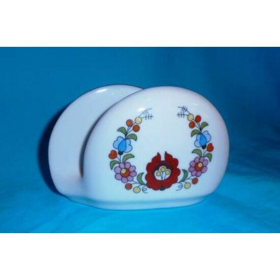 Porcelán szalvétatartó