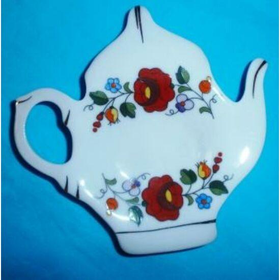 porcelán teafilter tartó