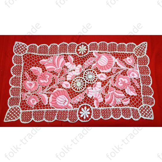 50x30-as Rózsaszín riselis terítő