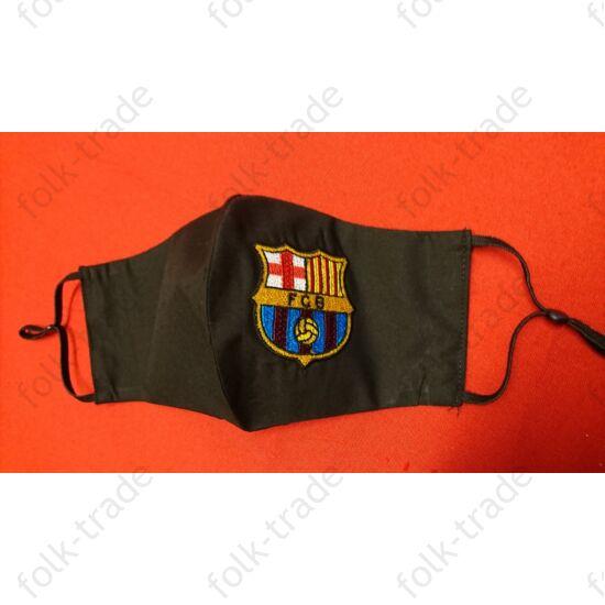 Hímzett maszk../barcelona