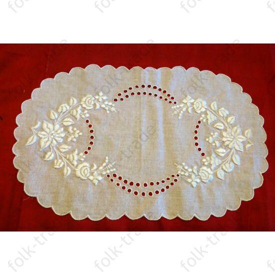 Fehér tálcakendő