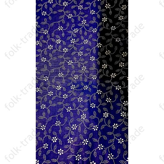 140x140-es kékfestő abrosz