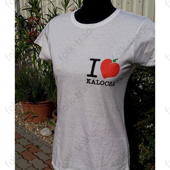 I love Kalocsa póló /férfi