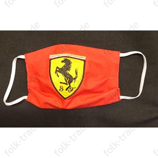 Hímzett maszk / Ferrari