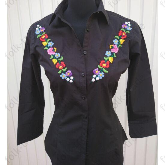 Fekete 34-es női ing