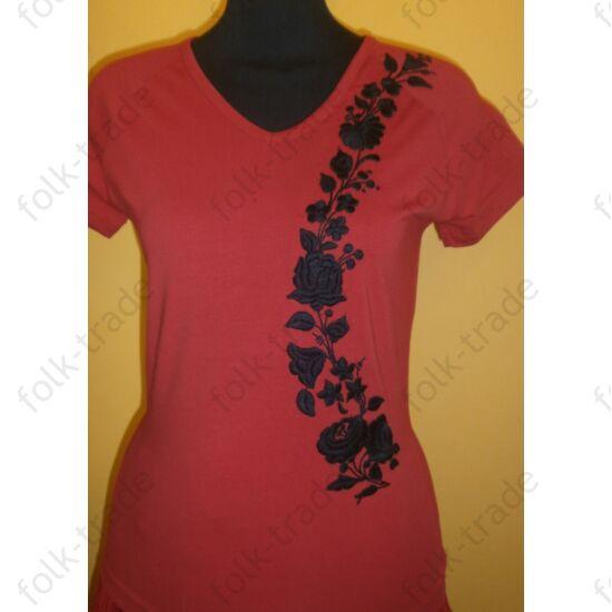 rövid ujjú póló /piros