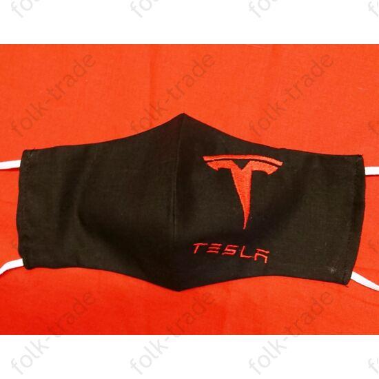 Hímzett maszk /Tesla 2