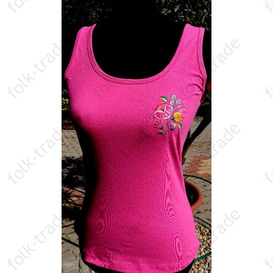 Ujjatlan női póló /pink
