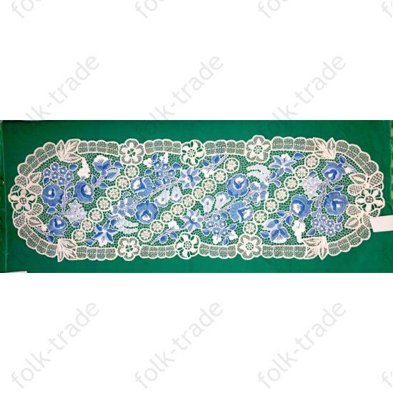 120x40 cm-es kék riselis futó