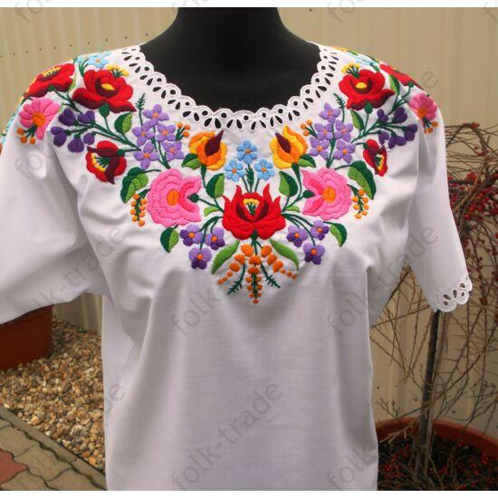 Dúsan hímzett női ingváll